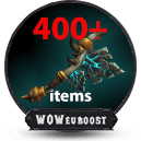 mythic 10 item wow boost